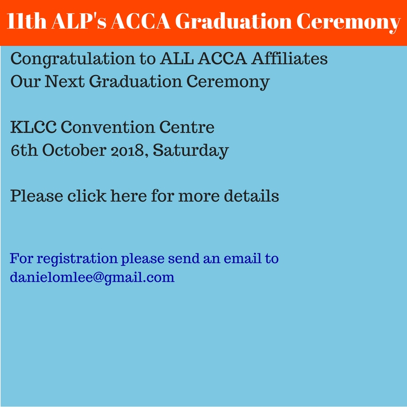 11th ALP's ACCA Graduation Ceremony