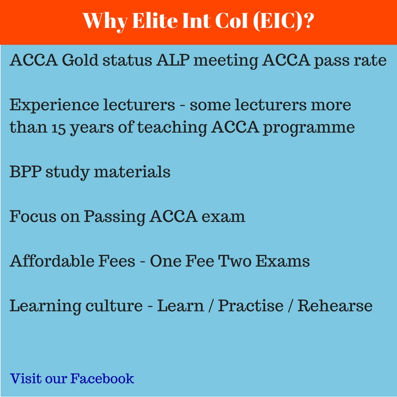 Why Elite International College